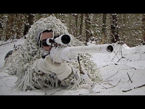 Airsoft War L96 Sniper Rifles in Action.  Section8 1080p HD
