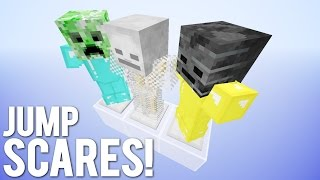 getlinkyoutube.com-3 Armour Stand Jump Scare Devices in Minecraft!