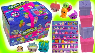 Surprise Mystery Gift Blind Bag Shopkins Season 7 Topkins Full Box Case - Video