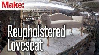 getlinkyoutube.com-DiResta: Reupholstered Loveseat