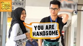 You Are Handsome | Girl Compliments EVERY Guy | Prank Asia
