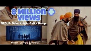 getlinkyoutube.com-Daler Khalsa gatka Group Nawanshahr Nanak singh mob 9814641089 with Zaalam By Gippy Grewal