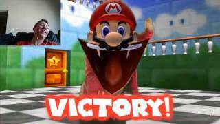 getlinkyoutube.com-Reaction to Retarded64: Stupid Smash Bros.