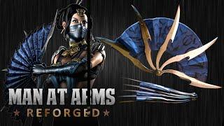 getlinkyoutube.com-Kitana's War Fans (Mortal Kombat X)- MAN AT ARMS: REFORGED