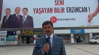 MHP Erzincan Milletvekili Adayı Bekir Aksun Birlik Beraberlik Mesajı Verdi