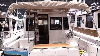 getlinkyoutube.com-2015 Cutwater 30 Fishing Boat - Walkaround - 2015 New York Boat Show