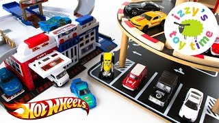 getlinkyoutube.com-Cars for Kids | Hot Wheels and Fast Lane Parking Garage Madness | Fun Toy Cars for Kids