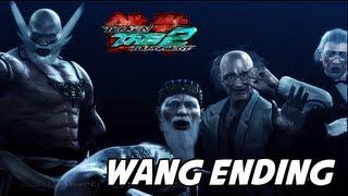getlinkyoutube.com-Tekken Tag Tournament 2 - Wang Arcade Ending Movie