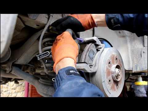 Переборка задних тормозных суппортов SsangYong Actyon 2 0 4wd СсангЙонг Актион 2012 года