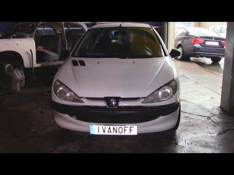 Ремонт автомобиля Peugeot 206 2,0HDI Протечка солярки из под пластиковой пробки ТНВД