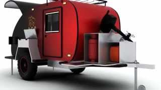 "getlinkyoutube.com-Off road camper ""Via Lander"""