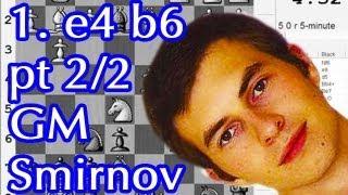 getlinkyoutube.com-Killer Chess Openings for Black: 1. e4 b6 (pt 2/2)
