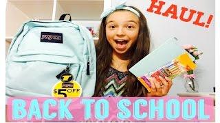 getlinkyoutube.com-Back To School Haul! | 2015-2016
