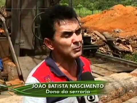No Maranhão Fiscais do Ibama Lacram Serrarias por Falta de Licença .mp4