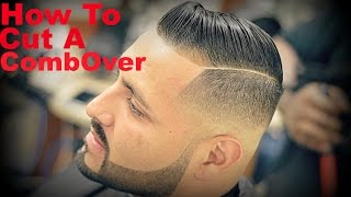 getlinkyoutube.com-Barber Tutorial: How To Cut A Comb-Over HD* (Cristiano Ronaldo)