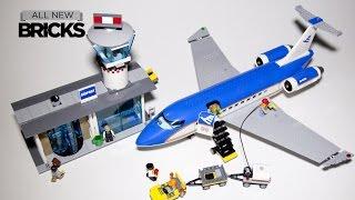 getlinkyoutube.com-Lego City 60104 Airport Passenger Terminal Speed Build