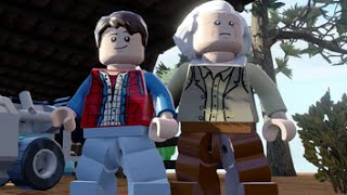 getlinkyoutube.com-LEGO Dimensions - Back to the Future Adventure World - All Quests