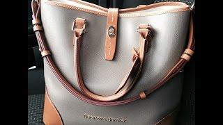 getlinkyoutube.com-Dooney & Bourke Shelby Shopper Review: Request from Tina :)