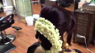 getlinkyoutube.com-Traditional Low Bun...