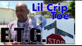 getlinkyoutube.com-Lil Crip Toe from Eight Tray Gangster Crip, Back West Side, just released from prison