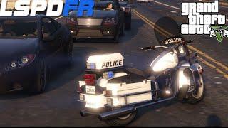 GTA V - LSPDFR #3 : Patrulha Rodoviária com motocicleta