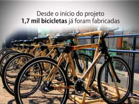 Bicicleta de Bambu - Momento Ambiental