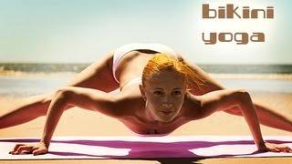 getlinkyoutube.com-BIKINI YOGA WORKOUT   SUPER POWER STRETCH   BEACH BODY