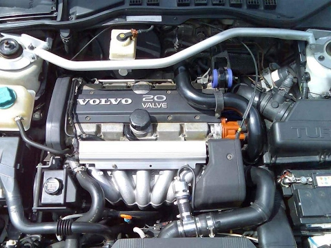 Ремонт двигателя Volvo 5-цилиндров ч.1 Начало.