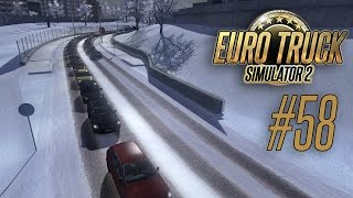 getlinkyoutube.com-Euro Truck Simulator 2 [#58] - Обзор зимнего мода
