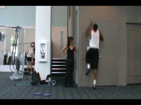 Dre Baldwin: Explosive One Leg Jumps | NBA Vertical Jump Training Air Alert 3 LeBron