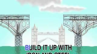 getlinkyoutube.com-London Bridge Is Falling Down - Nursery Rhyme - With Text