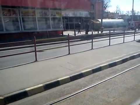 Plimbare cu tramvaiul Tatra KT4D prin Oradea
