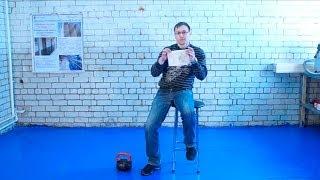 getlinkyoutube.com-Чистый пол в боксе. Обеспыливаем и укрепляем.