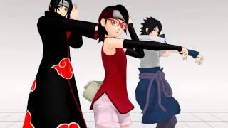 getlinkyoutube.com-[MMD]Echo Uchiha Style [Sarada, Sasuke, Itachi]