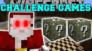getlinkyoutube.com-Minecraft: SANTA CLAWS CHALLENGE GAMES - Lucky Block Mod - Modded Mini-Game