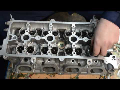 Кап. ремонт двигателя 2AZ-FE ( первая часть ) ремонт ГБЦ