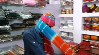 getlinkyoutube.com-How to tie rajputi turban(safa) by bhamsa