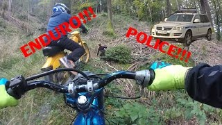 getlinkyoutube.com-TOMOS POLICE GETAWAY / ANGRY GUY / HARD ENDURO / TRACTOR DRIFTING!!! (APN4, AVTOMATIK A3)