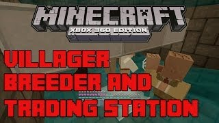 getlinkyoutube.com-Villager breeding and trading station xbox 360 minecraft