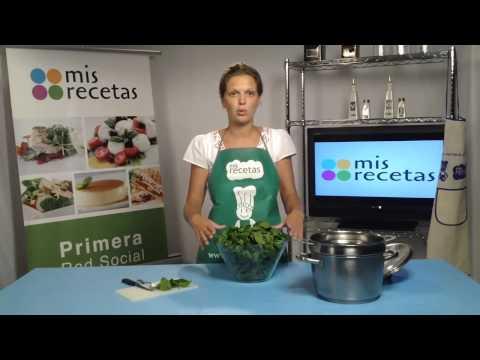 Cómo cocinar las espinacas