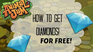 getlinkyoutube.com-Animal Jam: How to Get Free Diamonds!
