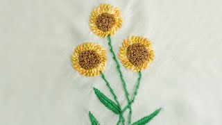 getlinkyoutube.com-Hand Embroidery Designs | New Hand Stitching patterns | HandiWorks #17