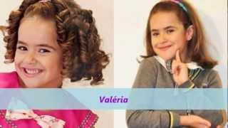 Carrossel 2012: Alguns personagens- antes e depois