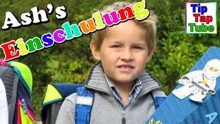 getlinkyoutube.com-Einschulung Schultüte und Geschenke mit Spielzeug auspacken Kinderkanal Kanal für Kinder
