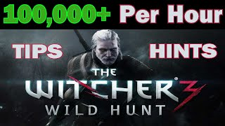 getlinkyoutube.com-The Witcher 3 - Infinite Money Glitch Unlimited Crowns - Cheat Tips - 100k /hr