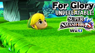 getlinkyoutube.com-I LOVE THIS CHARACTER | Undefeatable! ~ Toon Link Ep. 6 - Super Smash Bros for Wii U (For Glory)