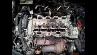 getlinkyoutube.com-1.6HDI Peugeot/Citroen DV6TED4 16v 110BHP  Cylinder Head Removel for repairs