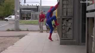 Spider man prank