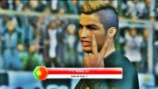 getlinkyoutube.com-PES 2014 - Cristiano Ronaldo - Gols,Dribles e Faltas HD