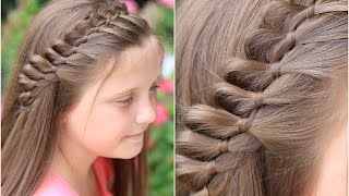 4 Strand French Braid Pinback | Cute Girls Hairstyles
